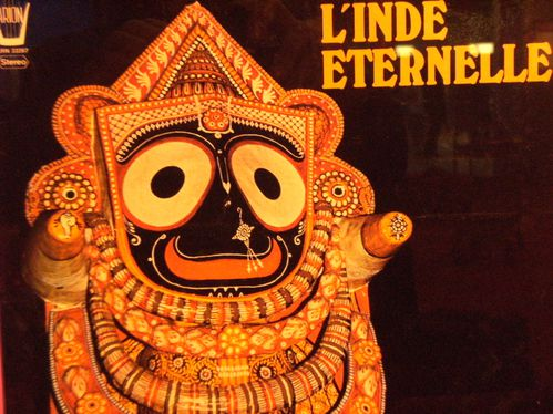 l'inde éternelle, Ensemble traditionnel de l'ORISSA, Label : ARION 1975 france