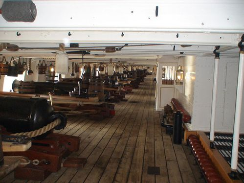 HMS Warrior canon