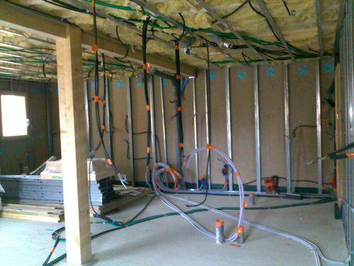 Electricit le blog de maison bois - Refaire une installation electrique dans une maison ...