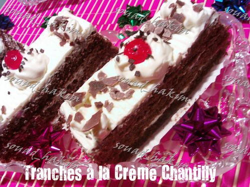 tranches chantilly