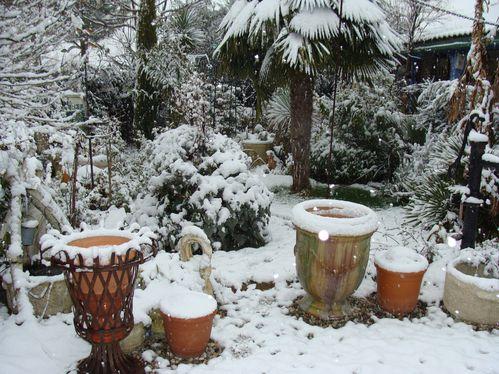 10 cm de neige fév. 2012