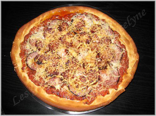 Pizza chorizo andouillette 1