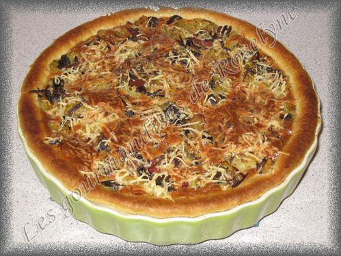 Tarte-champignons-pomme-de-terre