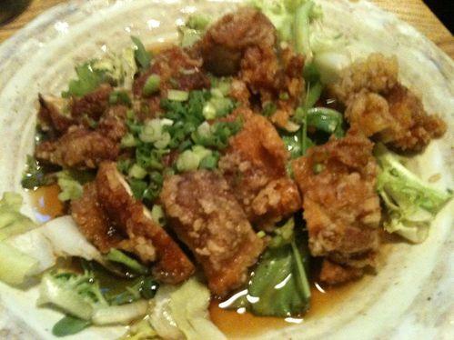 Izakaya Isse poulet namban01