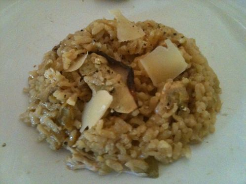 risotto cepes