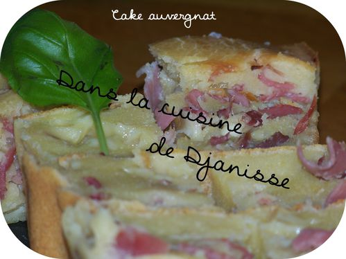 Cake Auvergnat