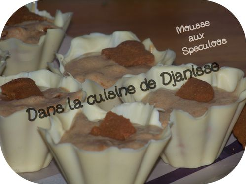 mousse aux speculoos 2