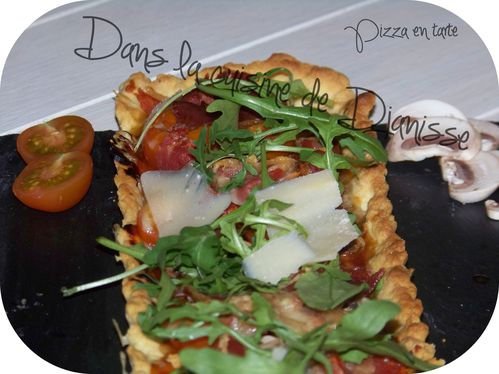 Pizza tarte