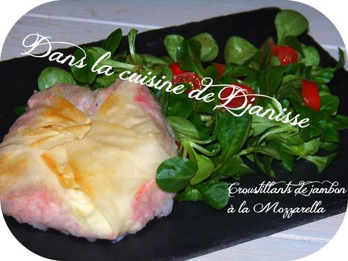 Croustillants jambon mozzarella