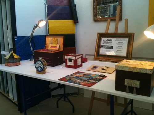 concours cartonnage expo