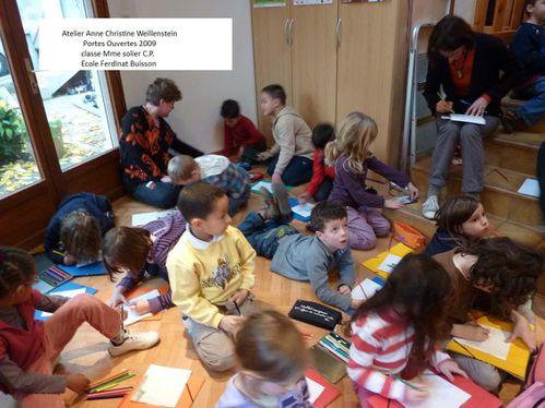 2009 atelier A.C W. classe Mme Solier -CP, Ecole ferdinant