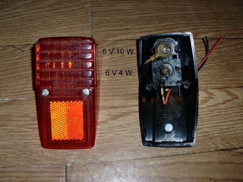 Hungarian taillight bulbs Impex