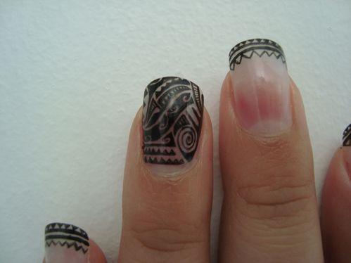Nail art Hawai 3