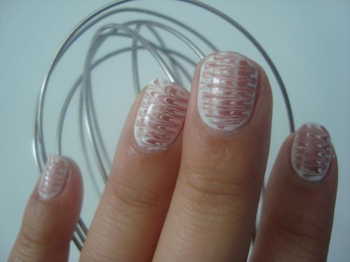 Nail art mille feuille 2