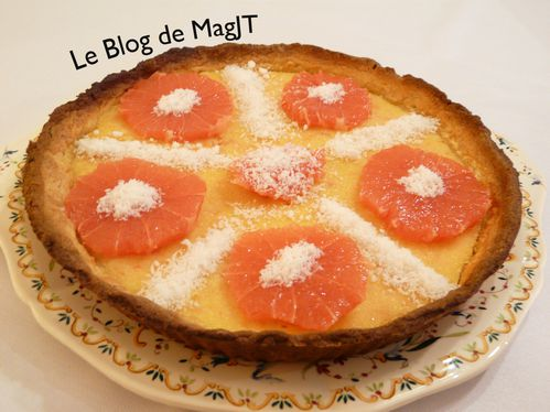 Tarte coco-pamplemousse1