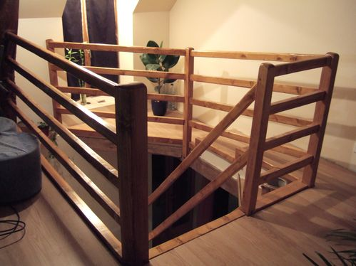 cr ation d 39 un escalier en bois sur mesure faire un escalier soi m me r nover soi m me une. Black Bedroom Furniture Sets. Home Design Ideas