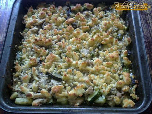crumble volaille