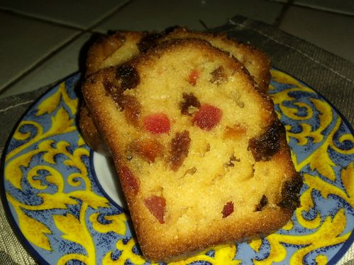 Cake Aux Fruits Confits Thermomix