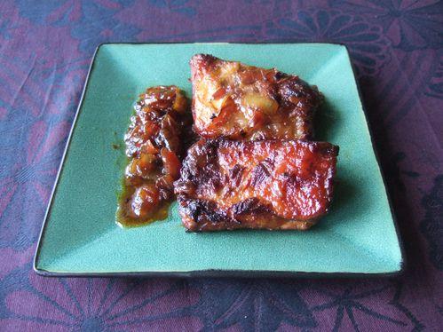 Travers de porc au miel trucs et recettes d 39 alexa ou - Cuisiner travers de porc ...