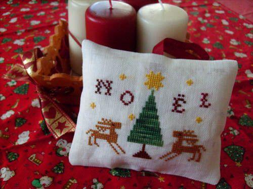 Noel aux rennes Bridinette