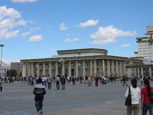 026 la place Sukhbaatar,ré