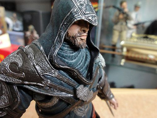 ASSASSIN CREED EZIO REVELATIONS NECA