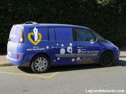 Paris-Roubaix 2011 caravane publicitaire
