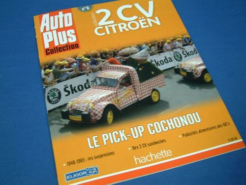 2cv Cochonou Pick-Up Eligor 06