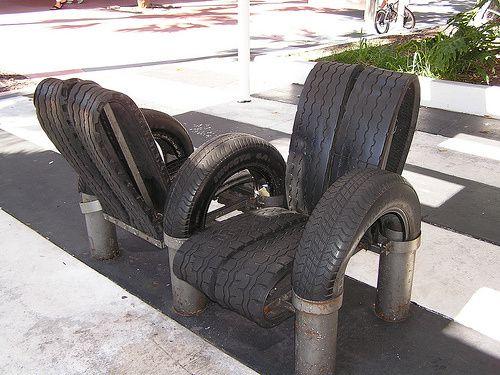 Fauteuils en pneus n°11