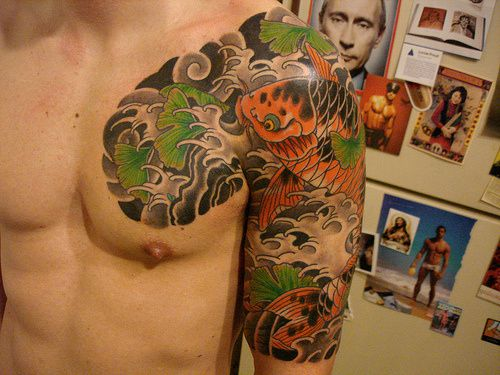 En vrac, Tattoos asian style .