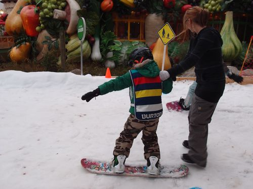 Snowboard parc astrix