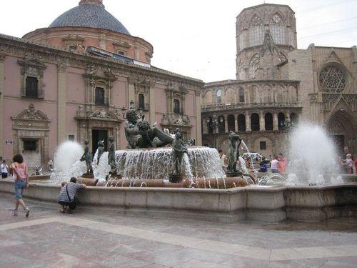 4 Plaza de la Virgen fuente