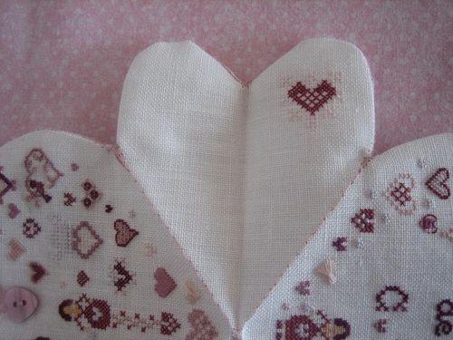 coeur de brodeuse tournicoton extérieur côté