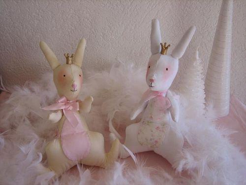 lapins Ambre et Perle