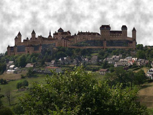 Château de Carlat (Cantal)