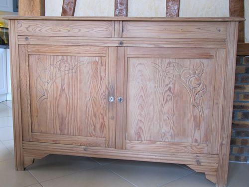 Repeindre ses meubles en blanc patine lin d co peinture for Meuble peint en blanc