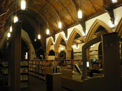 quebec bibliotheque