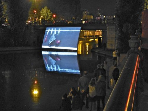 Robin Rhode a day in may Nuit blanche 13 canal 2