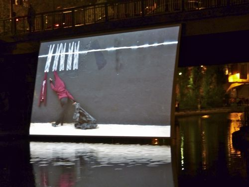 Robin Rhode a day in may Nuit blanche 13 canal 4