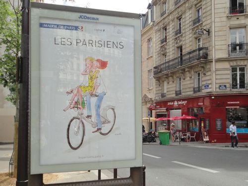 affiche parisien Kanako 3555