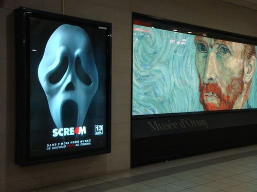 Scream affiche Van Gogh