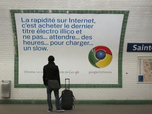 affiche Google chrome 1