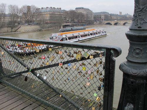 cadenas d'amour Pont des arts 6152