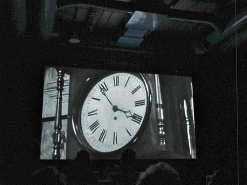 The clock Christian Marclay Beaubourg 8405