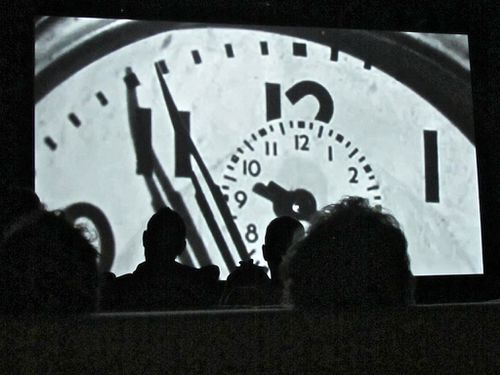 The clock Christian Marclay Beaubourg 8407