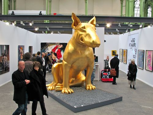 Art Paris Aurèle lost dog 2