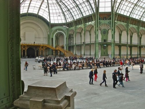 Grand Palais Soup Rirkrit TIRAVANIJA 1