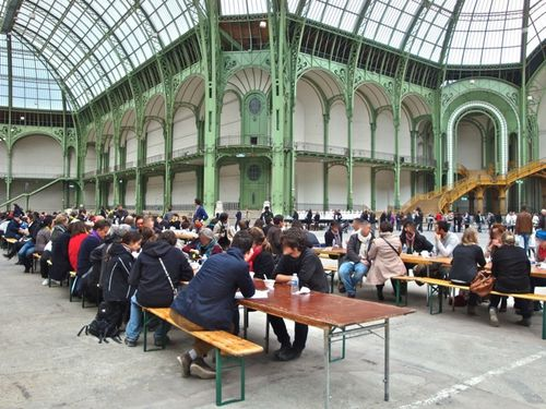 Grand Palais Soup Rirkrit TIRAVANIJA 9
