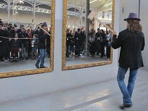 104 Pistoletto miroir Fiaschi