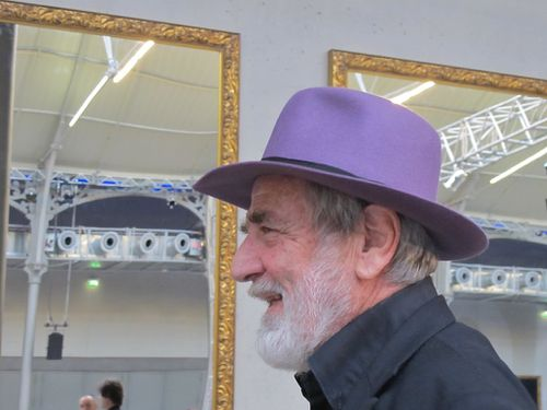 104 Pistoletto portrait